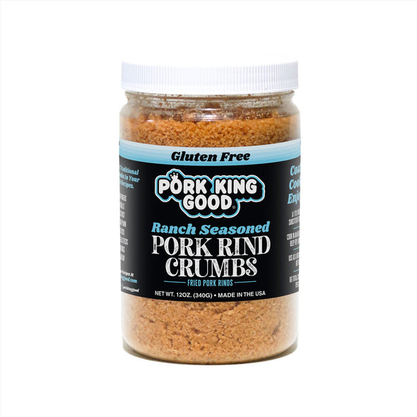 Pork King Good Pork Rind Crumbs Ranch Flavor