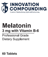 Load image into Gallery viewer, Melatonin 3mg with Vitamin B6