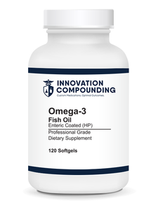 Omega-3 Fish Oil, Enteric Coated, High Potency