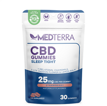 Load image into Gallery viewer, Sleep Tight CBD Gummies