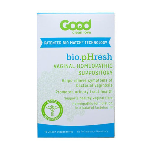 Good Clean Love - BiopHresh Vaginal Homeopathic Suppository