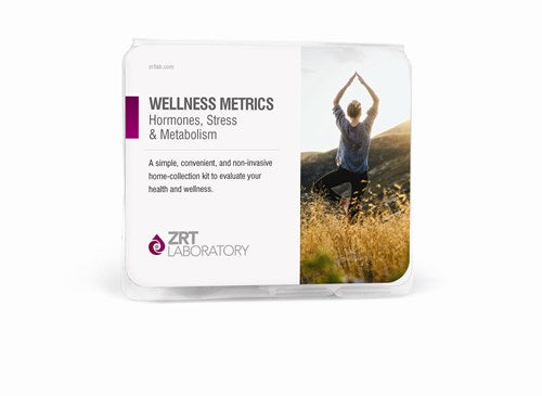 Wellness Metrics Testing Kit (Take Home Salivary and Blood Spot Testing Kit) + Pharmacist Consultation