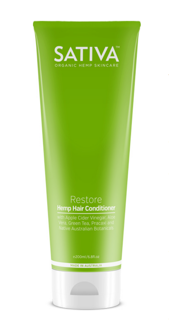 Sativa Restore Hemp Conditioner 200ml