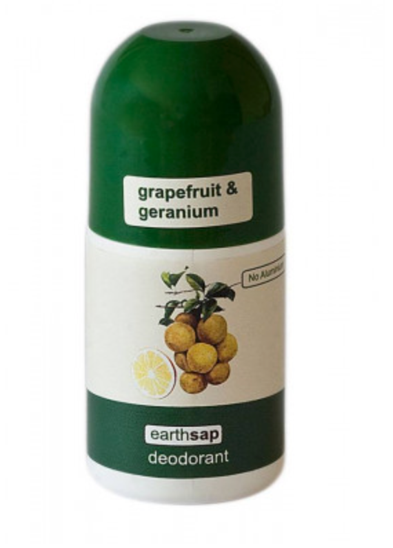 Earthsap Roll-On Deodorant - Grapefruit & Geranium