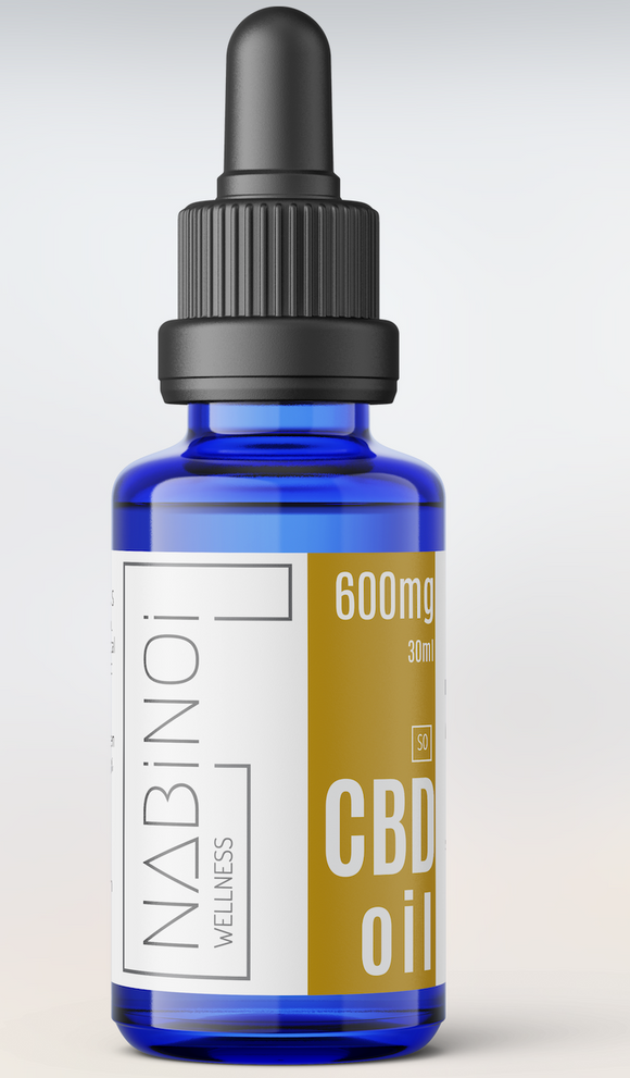 Nabinoi 600mg CBD Oil - 30ml