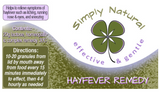 Simply Natural Hayfever Remedy 20g