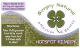 Simply Natural Hot Spot Remedy 20g