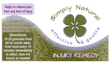 Simply Natural Injury Remedy 20g