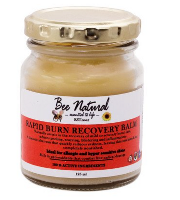 Bee Natural Burn Recovery Balm 125ml