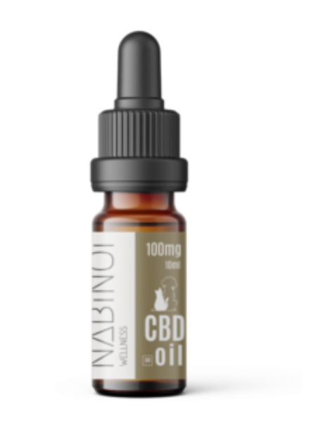Nabinoi 100mg CBD Pet Oil - 10ml