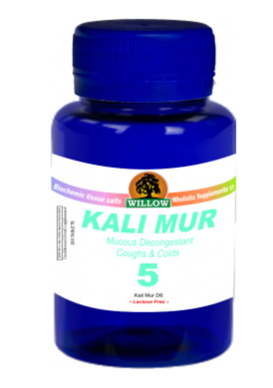 Willow Tissue Salt #5 Kali Mur D6 (200)