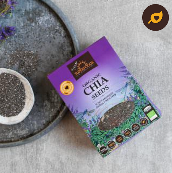 Superfoods Organic Chia Seeds 200g