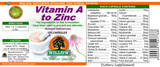 Willow Vitamin A-Zinc 60 Capsules