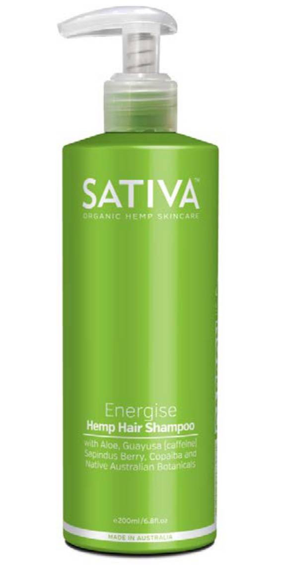 Sativa Energise Hemp Shampoo 200ml