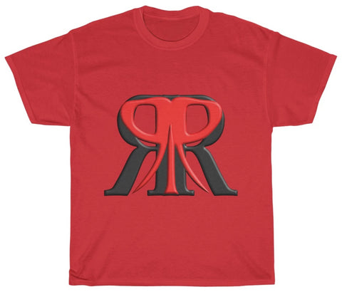 Image of Red Rush Heavy Cotton Tee