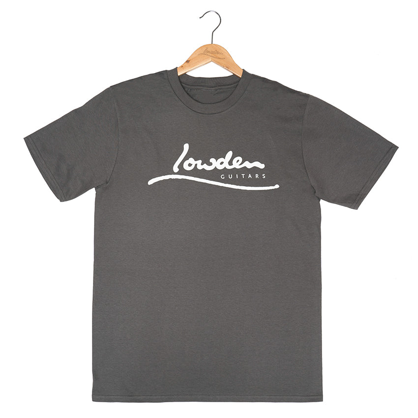 Charcoal Lowden Logo T-Shirt