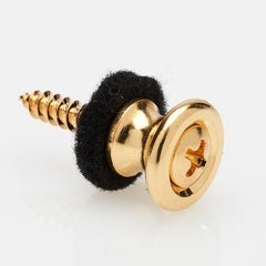 Gold Neck Heel Strap Button