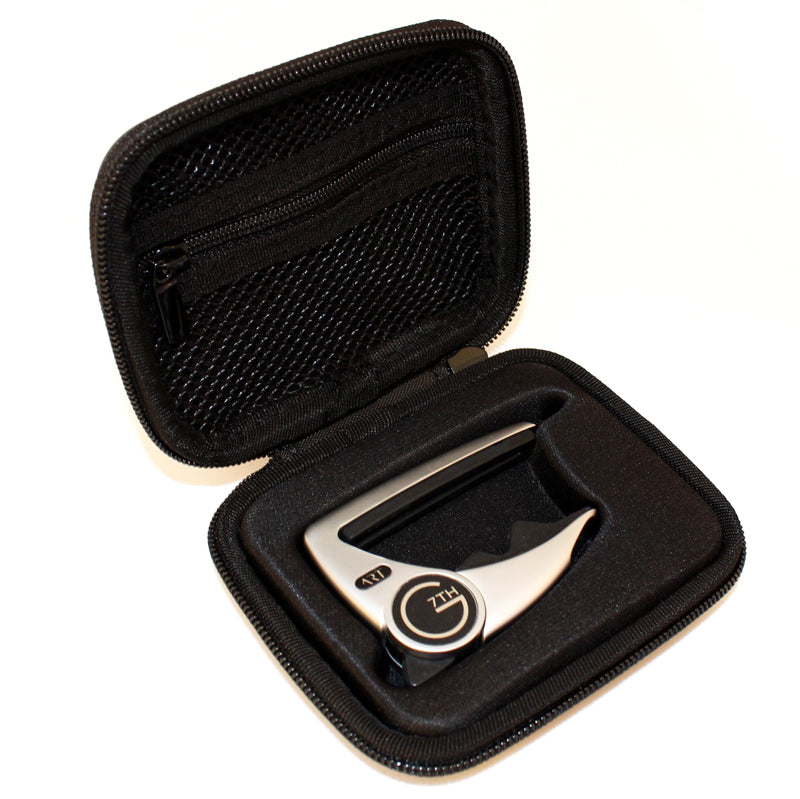 G7th Performance 3 Capo Silver With Zip Case
