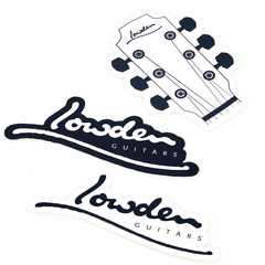 Pack of 3 Lowden Stickers
