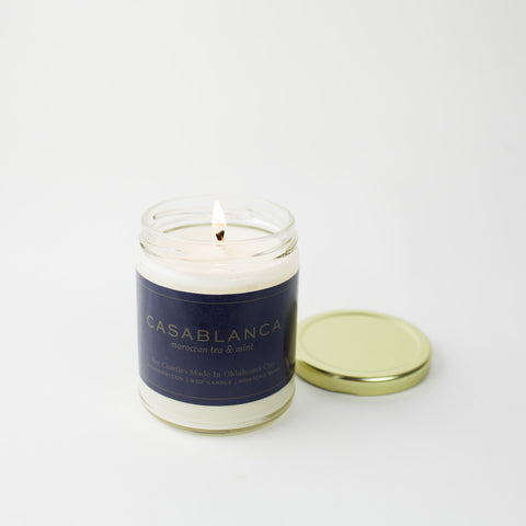 Casablanca Gold Lid Candle