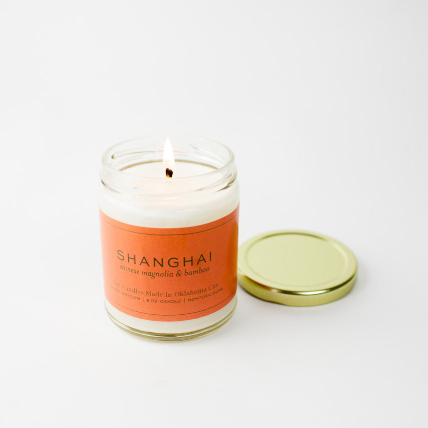 Shanghai Gold Lid Candle