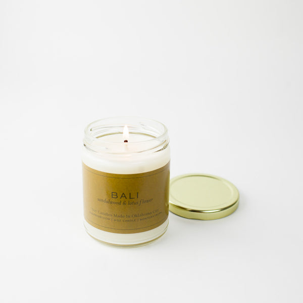 Bali Gold Lid Candle