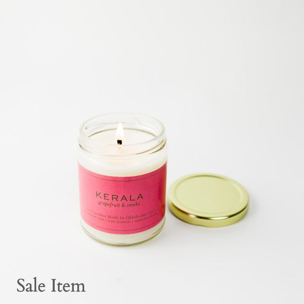 Kerala Gold Lid Candle