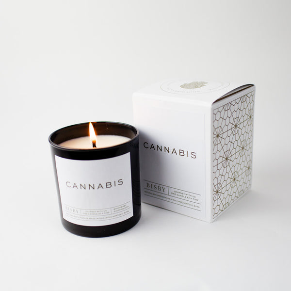 Cannabis Candle
