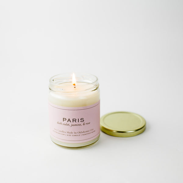 Paris Gold Lid Candle