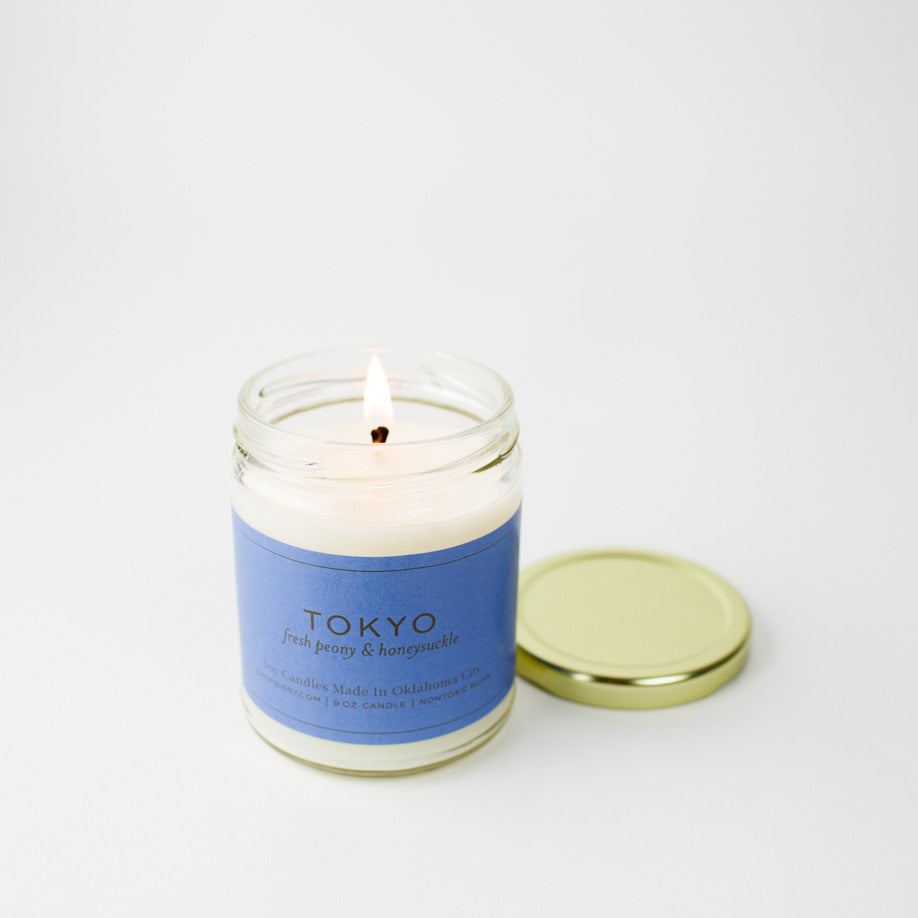 Tokyo Gold Lid Candle