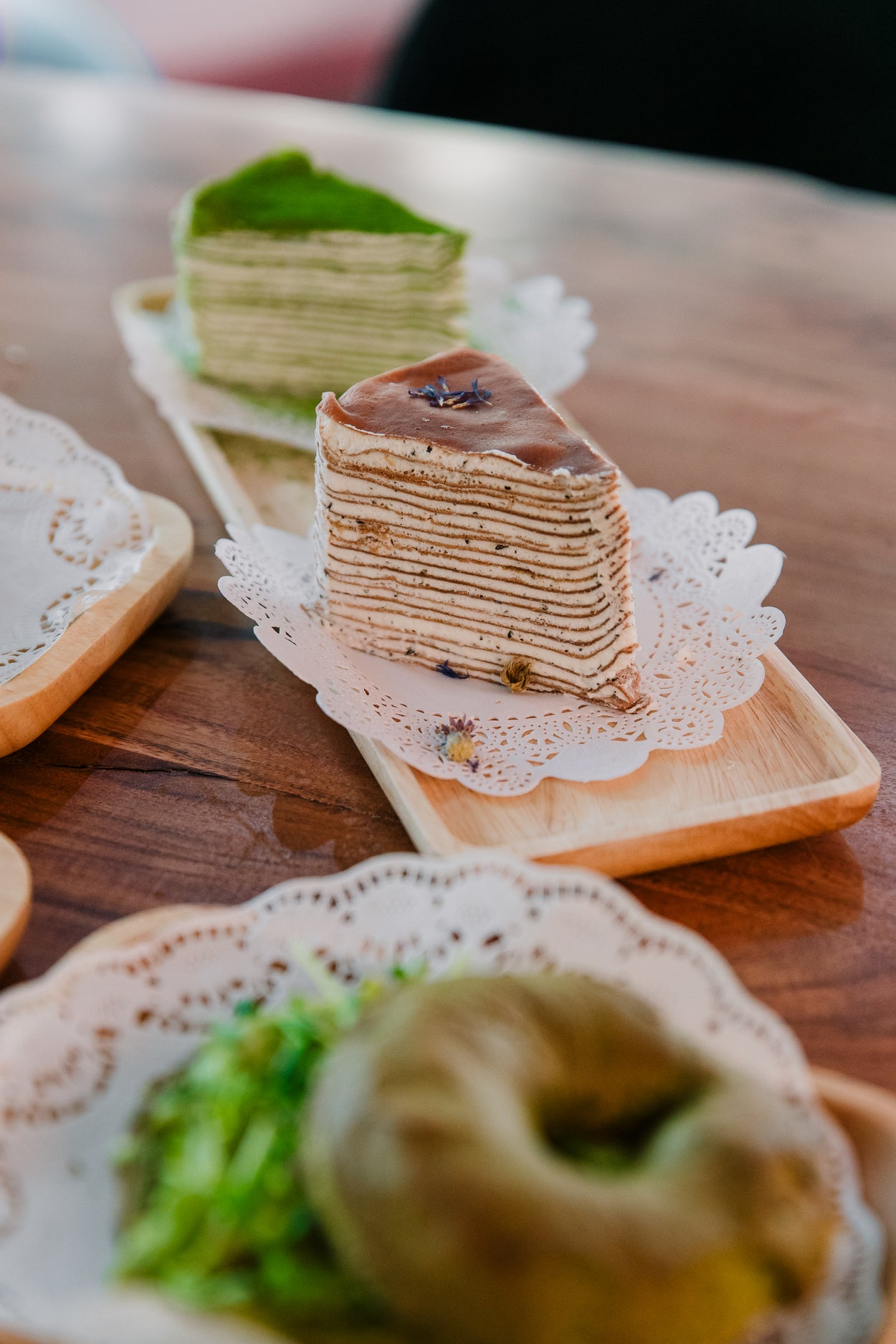 Chocolate Earl Grey Crepe Cake (whole cake only)
