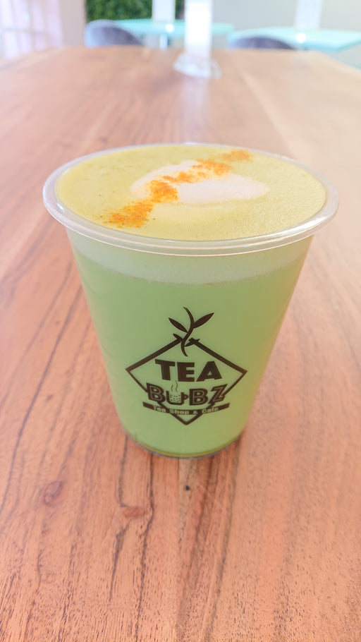 Golden matcha Latte