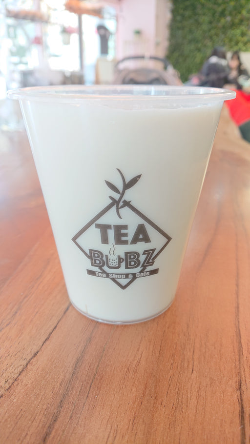 Chai tea brewed in milk