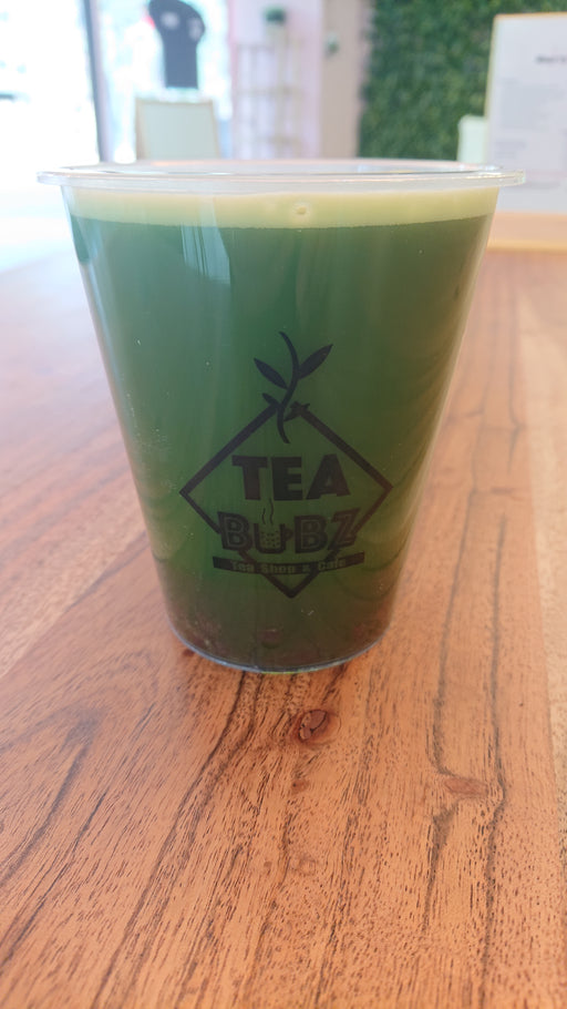 Red bean matcha