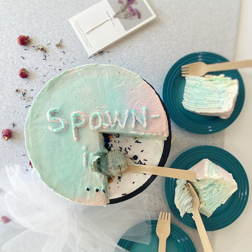Gender Reveal Crepe Cakes(Whole Cake ONLY)