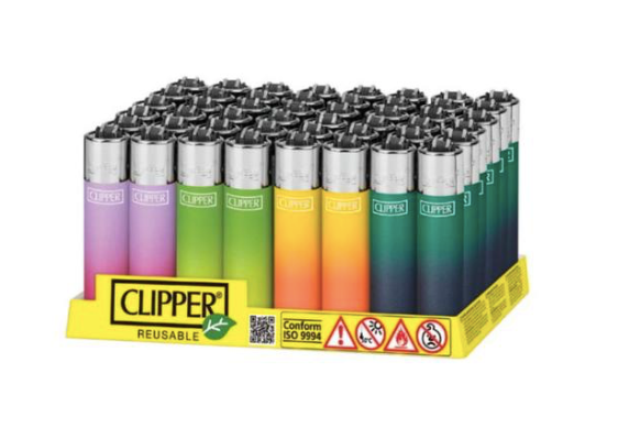 Clipper Lighter Metallic Gradient