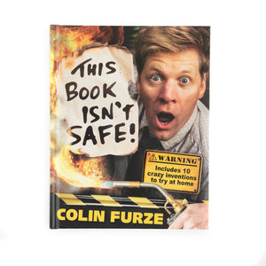 This Book Isn't Safe! - SIGNED