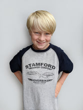 Load image into Gallery viewer, Kids' Stamford Hovercorps T-Shirt - Grey/Navy