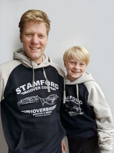 Load image into Gallery viewer, Kids' Stamford Hovercorps Hoodie - Navy/Grey