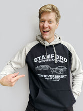 Load image into Gallery viewer, Stamford Hovercorps Hoodie - Navy/Grey