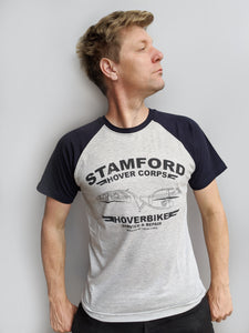 Kids' Stamford Hovercorps T-Shirt - Grey/Navy