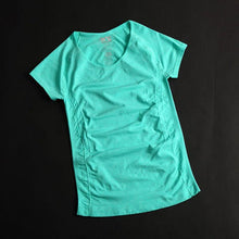 Load image into Gallery viewer, Women Professional Yoga Shirts Top Fitness Running Gym Sports T Shirt Quick Drying Short Tees Jogging Exercises Tops