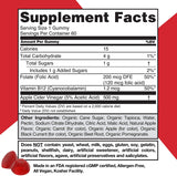 Apple Cider Vinegar Gummy Vitamins by Goli Nutrition - Immunity & Detox - (60 Count)