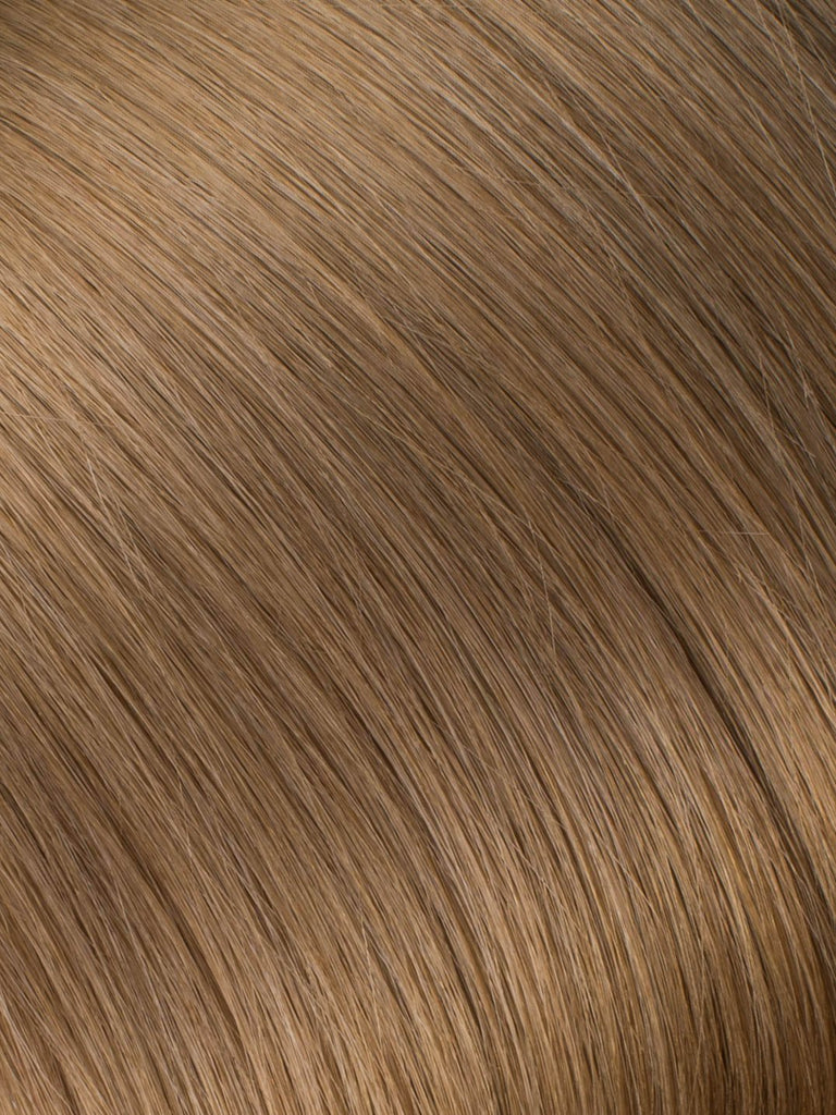 "BELLAMI Professional Keratin Tip 16"" 25g  Light Ash Brown #9 Natural Straight Hair Extensions"