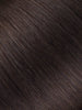 "BELLAMI Professional Volume Wefts 22"" 160g  Mochachino Brown #1C Natural Straight Hair Extensions"