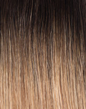 Mochachino Brown/Caramel Blonde (#1C/#18/#46) Rooted