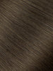 "BELLAMI Professional Tape-In 18"" 50g  Walnut Brown #3 Natural Straight Hair Extensions"