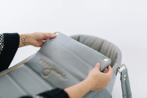 The Moses Bag is better than a portable bassinet for baby.