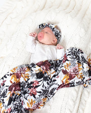 Blanket + Bow Bundle | Winter Floral - MoryJune