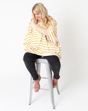 Bomb Shelter™, Blanket & Bow Bundle | Amber Stripe - MoryJune